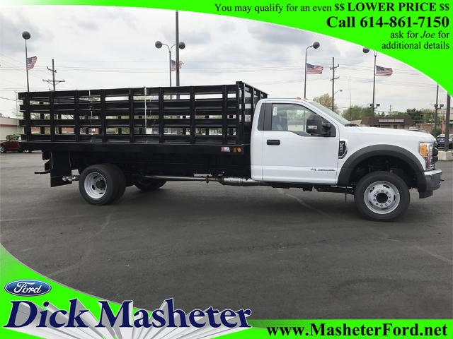 2017 F-550 Regular Cab DRW 4x2,  Parkhurst Stake Bed #22319 - photo 11