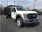 2017 F-550 Regular Cab DRW 4x2,  Parkhurst Stake Bed #22319 - photo 1