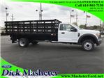 2017 F-550 Regular Cab DRW, Parkhurst Stake Bed #22319 - photo 1