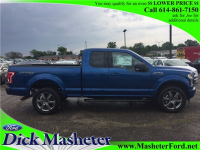 2017 F-150 Super Cab 4x4, Pickup #22485 - photo 1