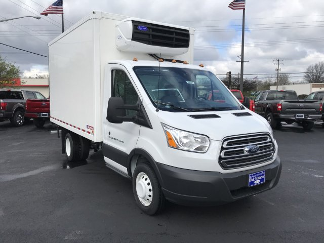 2017 Transit 350 HD DRW 4x2,  Morgan Refrigerated Body #22575 - photo 6