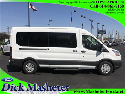 2017 Transit 350 Med Roof 4x2,  Passenger Wagon #22664 - photo 1