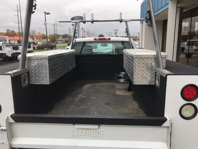 2013 Silverado 2500 Double Cab, Service Body #22786A - photo 8