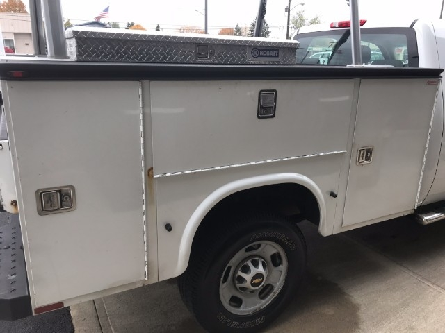 2013 Silverado 2500 Double Cab, Service Body #22786A - photo 9