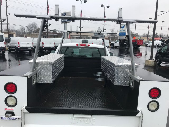 2013 Silverado 2500 Double Cab, Service Body #22786A - photo 7