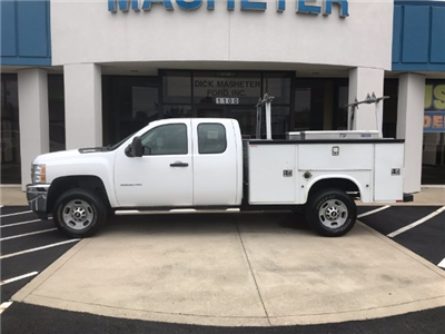 2013 Silverado 2500 Double Cab, Service Body #22786A - photo 3