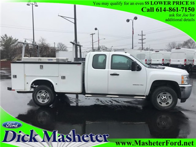 2013 Silverado 2500 Double Cab, Service Body #22786A - photo 4