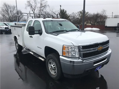 2013 Silverado 2500 Double Cab, Service Body #22786A - photo 5