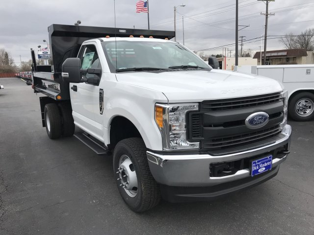 2017 F-350 Regular Cab DRW 4x4, Reading Dump Body #22923 - photo 4