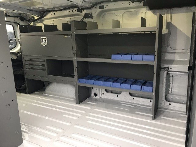 2018 Transit 150 Low Roof 4x2,  Kargo Master General Service Upfitted Cargo Van #22926 - photo 2