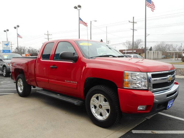 2010 Silverado 1500 Extended Cab 4x4,  Pickup #23085A - photo 4