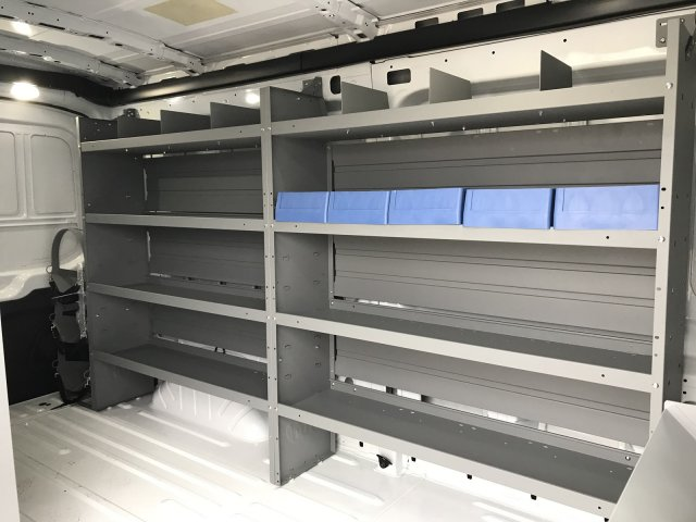 2018 Transit 250 Med Roof,  Kargo Master Upfitted Cargo Van #23125 - photo 2