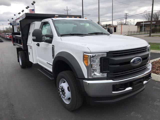 2017 F-550 Regular Cab DRW 4x4, Reading Dump Body #23228 - photo 3