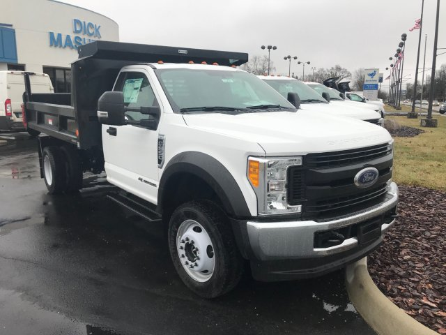 2017 F-550 Regular Cab DRW 4x4, Dump Body #23258 - photo 3