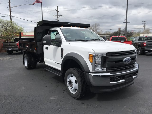 2017 F-550 Regular Cab DRW 4x4, Dump Body #23258 - photo 6