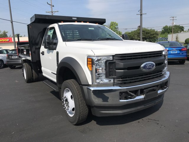 2017 F-550 Regular Cab DRW 4x4,  Reading Dump Body #23258 - photo 3