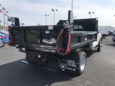 2017 F-550 Regular Cab DRW 4x4,  Reading Marauder Standard Duty Dump Body #23258 - photo 2