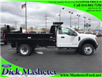 2017 F-550 Regular Cab DRW 4x4, Dump Body #23258 - photo 1