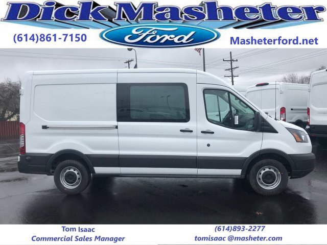 2018 Transit 150 Med Roof 4x2,  Empty Cargo Van #23294 - photo 1