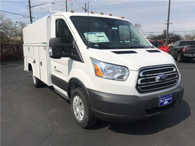 2018 Transit 350 4x2,  Reading Aluminum CSV Service Utility Van #23327 - photo 6