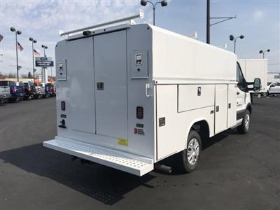 2018 Transit 350 4x2,  Reading Aluminum CSV Service Utility Van #23327 - photo 2