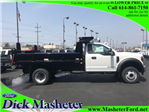 2018 F-550 Regular Cab DRW 4x2,  Reading Dump Body #23429 - photo 1