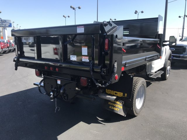 2018 F-550 Regular Cab DRW 4x4,  Air-Flo Pro-Class Dump Body #23438 - photo 2