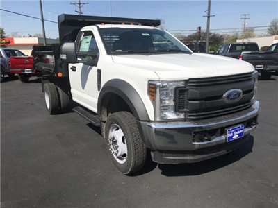 2018 F-550 Regular Cab DRW 4x4,  Air-Flo Pro-Class Dump Body #23438 - photo 3