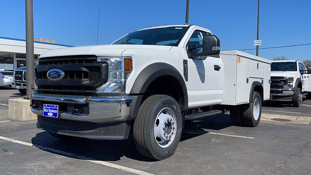 2020 Ford F-600 Regular Cab DRW 4x4, Monroe Service Body #C9357 - photo 1