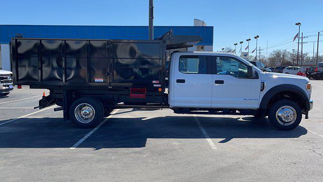 2021 Ford F-550 Crew Cab DRW 4x4, Reading Landscaper SL Landscape Dump #C9415 - photo 7