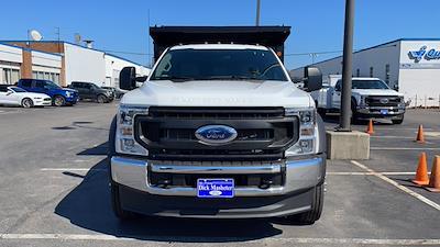 2021 Ford F-550 Crew Cab DRW 4x4, Reading Landscaper SL Landscape Dump #C9415 - photo 6