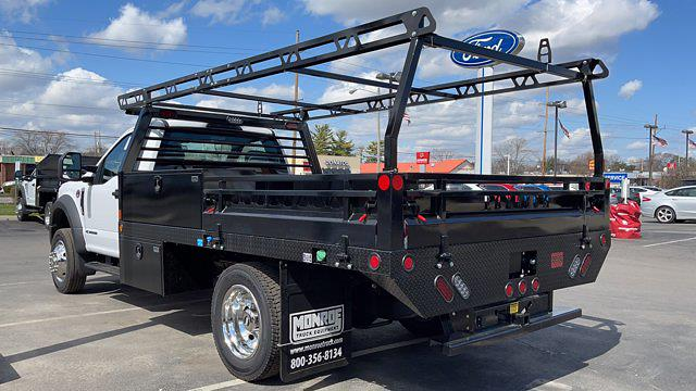 2021 Ford F-550 Regular Cab DRW 4x4, Monroe Contractor Body #C9436 - photo 1