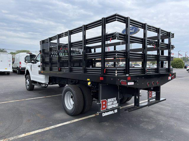 2021 Ford F-350 Regular Cab DRW 4x4, Reading Stake Bed #C9485 - photo 1