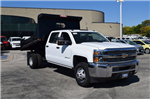 2016 Silverado 3500 Crew Cab DRW 4x4, Rugby Dump Body #B2762 - photo 1