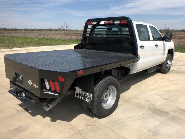 2019 Silverado 3500 Crew Cab 4x4,  PJ Truck Beds Platform Body #122156 - photo 1