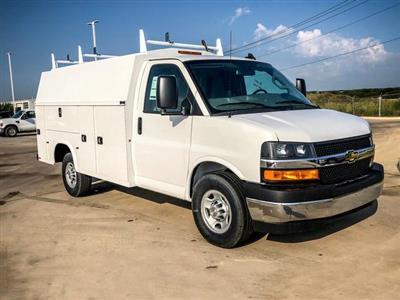 2019 Express 3500 4x2,  Service Utility Van #236608 - photo 3