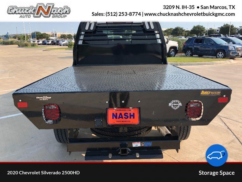 2020 Chevrolet Silverado 2500 Double Cab 4x4, CM Truck Beds Platform Body #293794 - photo 1
