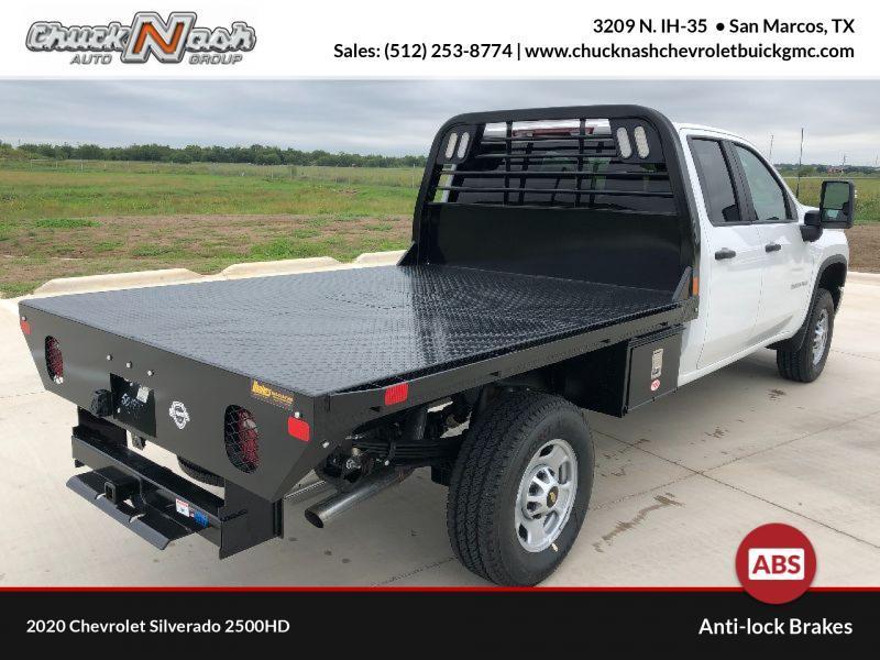 2020 Chevrolet Silverado 2500 Double Cab 4x4, CM Truck Beds Platform Body #293912 - photo 1