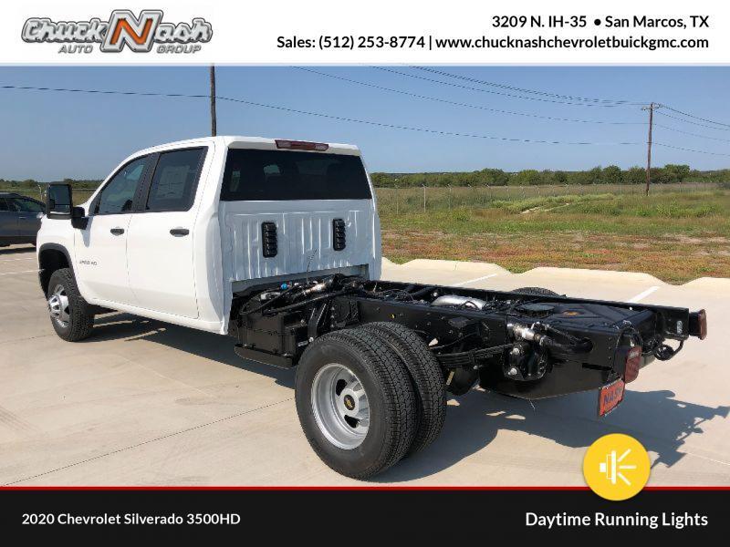 2020 Chevrolet Silverado 3500 Crew Cab DRW 4x4, Cab Chassis #332265 - photo 1