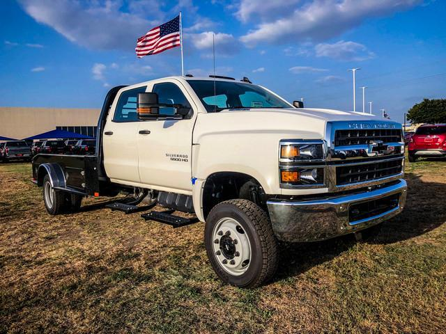 2019 Silverado 5500 Crew Cab DRW 4x4, CM Truck Beds Hauler Body #377351 - photo 1