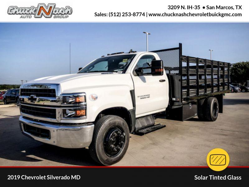 2019 Silverado Medium Duty DRW 4x2,  Stake Bed #385937 - photo 1