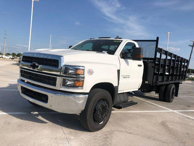 2020 Chevrolet Silverado 5500 Regular Cab DRW 4x2, Knapheide Stake Bed #583298 - photo 1