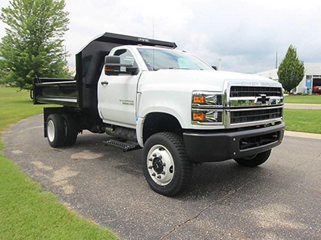 2020 Silverado 5500 Regular Cab DRW 4x4,  Crysteel E-Tipper Dump Body #SH01301 - photo 3