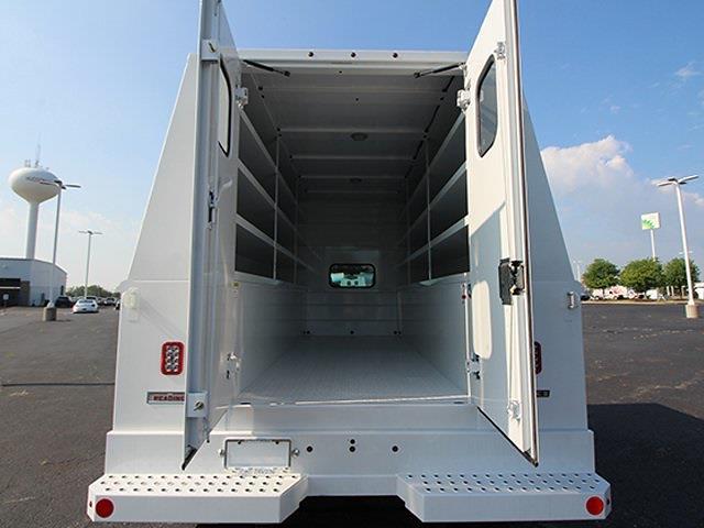 2021 Silverado 5500 Crew Cab DRW 4x4,  Reading Panel Service Body #SH211112 - photo 8