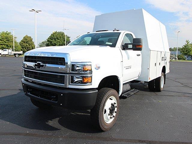 2021 Silverado 5500 Regular Cab DRW 4x4,  Reading Panel Service Body #SH211119 - photo 5