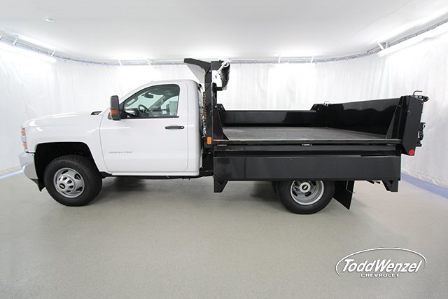 2017 Silverado 3500 Regular Cab 4x4, Dump Body #SH72114 - photo 10