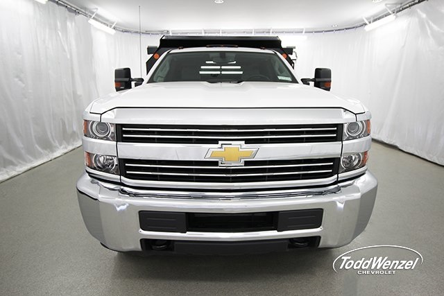 2017 Silverado 3500 Regular Cab 4x4, Dump Body #SH72114 - photo 4