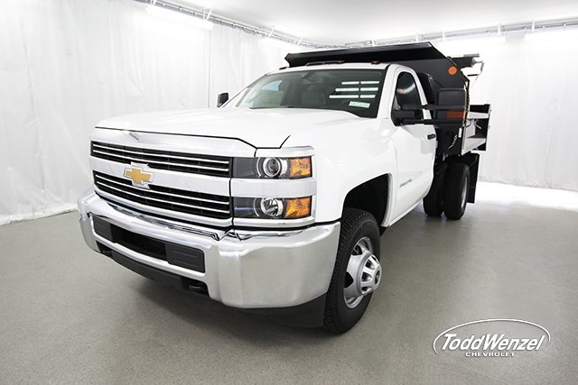 2017 Silverado 3500 Regular Cab 4x4, Dump Body #SH72114 - photo 5
