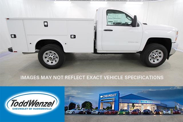 2017 Silverado 2500 Regular Cab 4x4,  Knapheide Standard Service Body #SH72262 - photo 1
