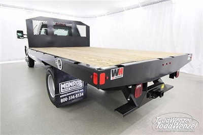 2017 Silverado 3500 Regular Cab DRW 4x4,  Monroe Work-A-Hauler II Platform Body #SH72269 - photo 6